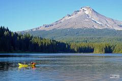 My. Hood from Trillium Lake Oregon