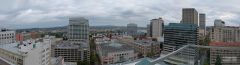 Panoramic view of Downtown Portland Oregon